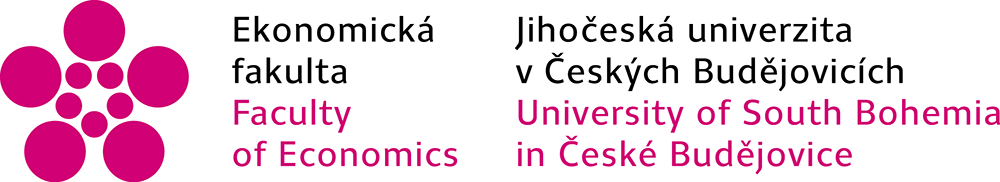 Logo of the Faculty of Economics, University of South Bohemia